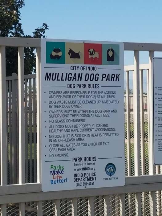 Mulligan Dog Park1