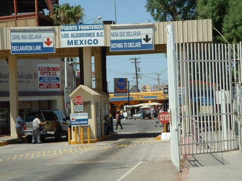 algodones border crossing